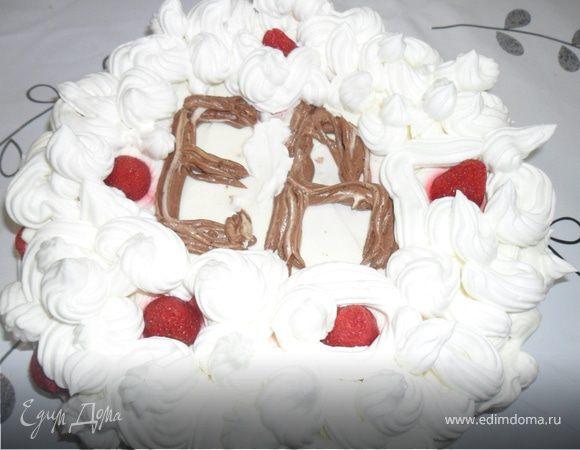 """Волшебный клубничный торт """"Для Вас"""""""