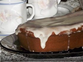 Имбирный кекс с глазурью