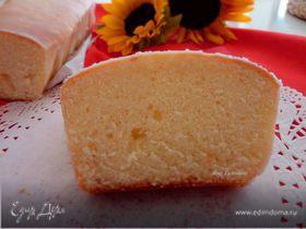Лимоный кекс в лимонной глазури