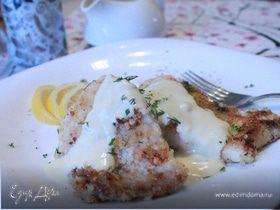 Рыба под сливочно-горчичным соусом