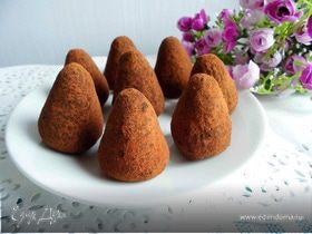 Шоколадные трюфели с кунжутом