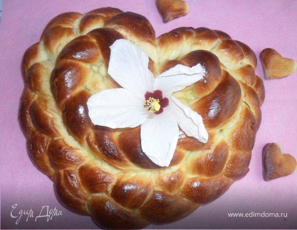 "Хлеб ""С днем Святого Валентина"""