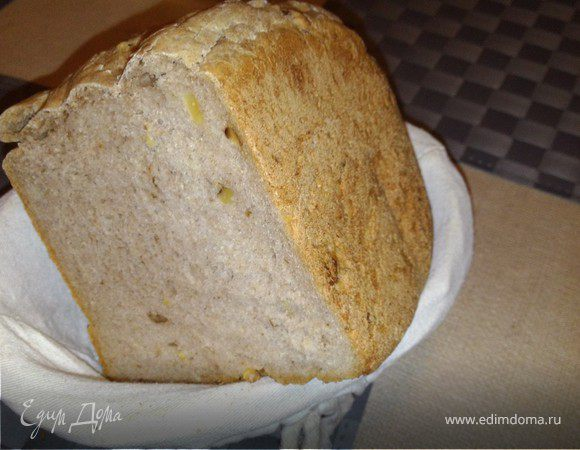 Ржаной хлеб с кориандром и орехами