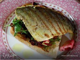 Тосты с рыбой карри и свекольным салатом