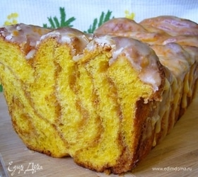 Постный тыквенный сахарный хлеб
