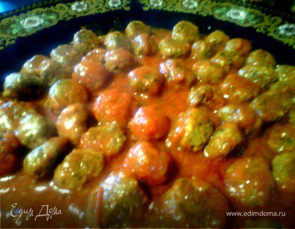 Тефтели из сардин в соусе