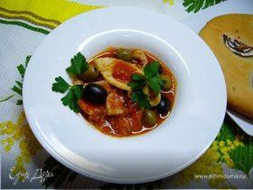 Кальмары в томатном соусе