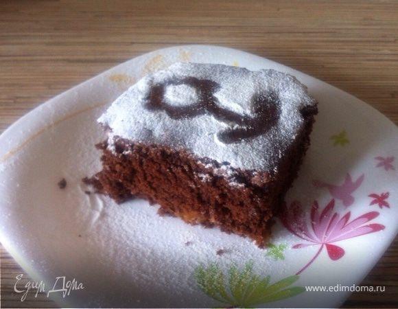Постный кекс с сухофруктами