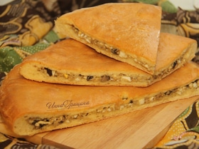 Зокоджин — осетинский грибной пирог