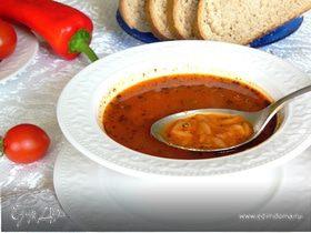 Суп из макарон (Şehriye çorbası)