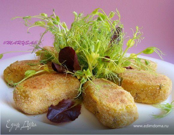 Пряные картофельно-чечевичные биточки