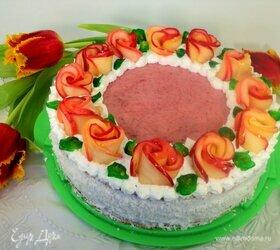 Торт «Венок из роз»