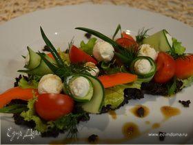 Греческий салат по-новому