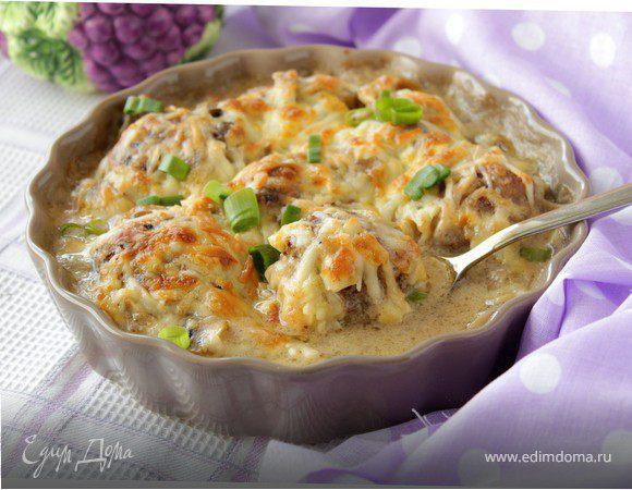 Тефтели + Сыр – кулинарный рецепт