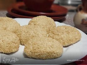 Сырники с кунжутом в духовке