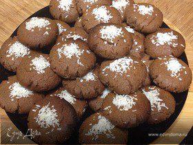Шоколадное курабье (Browni Kurabiye)