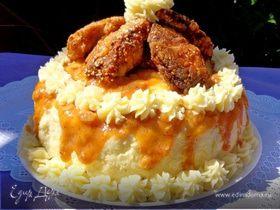 """Закусочный торт """"33 удовольствия"""""""