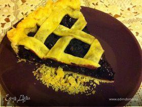 Ежевичный пирог летний