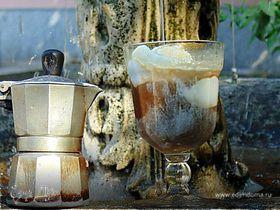 Кофе с мороженым по-итальянски (Gelato affogato)