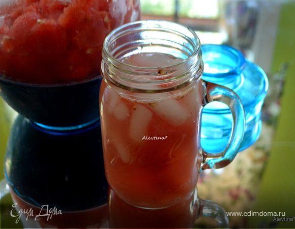 Арбузно-имбирный освежающий напиток (Watermelon-Ginger Agua Fresca)