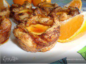 Пирожные с кремовой ванильной начинкой и карамелью от Джейми Оливера