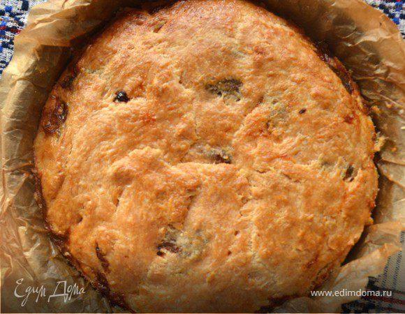 Домашний сырный пирог с луком