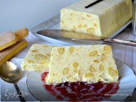 Ванильное парфе (Vanille Parfait) с крошкой печенья