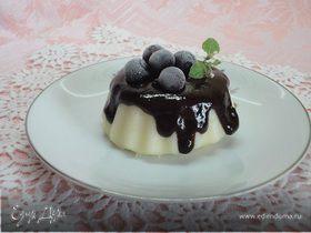 Десерт из манной крупы с шоколадом