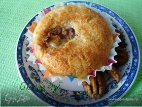 Творожные кексы с карамелизованным пеканом