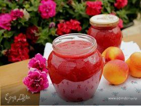 Варенье из нектаринов и слив с ванилью