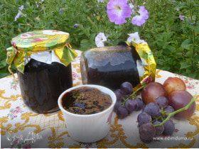 Виноградно-сливовый джем