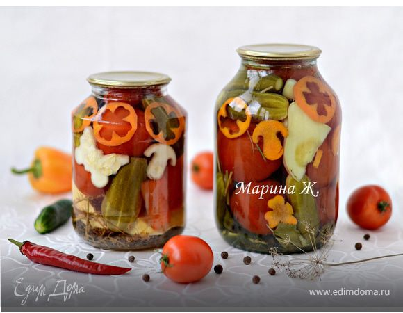 Маринованные овощи «Лето в банке»