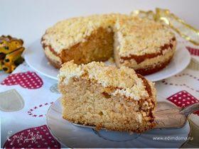 Домашний пирог с крошкой (Crumb Cake)