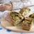Хрустящий хлеб с оливково-базиликовой топенадой