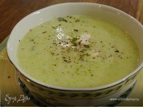 Суп из кабачков и пекинской капусты