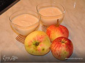 Яблочная панна-котта