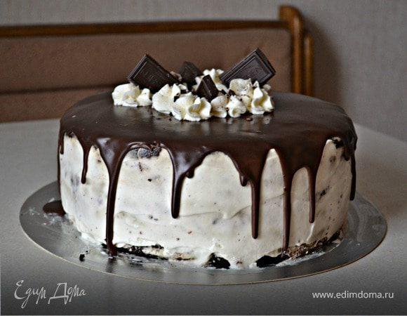 Шоколадный торт на пиве