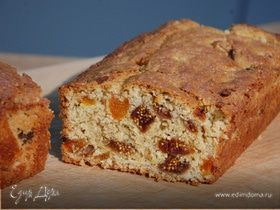 Фруктовый хлеб с отрубями