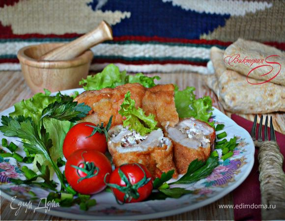 Шницель из свинины по-карагеоргиевски
