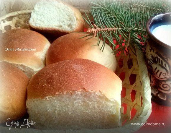 Цельнозерновые сдобные булочки – кулинарный рецепт