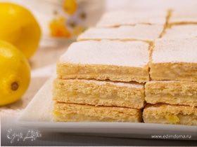 Лимонный пирог и универсальное тонкое тесто