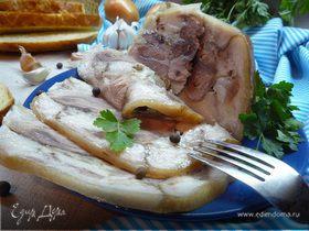 Рулька свиная со специями