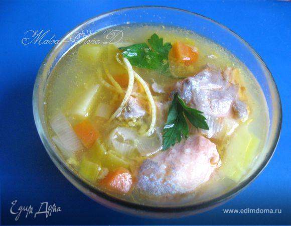 как сварить рыбный суп из форели
