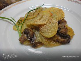 Картофельная запеканка по-монастырски