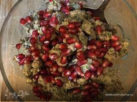 Кучмачи (печень и сердце курицы с орехами)