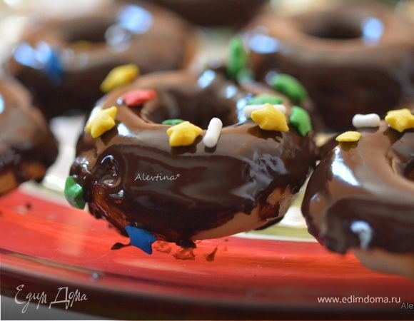 Мини-кексы (пончики)