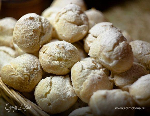 Пирожные «Шу» с белковым кремом