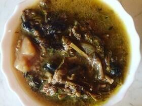 Авелуков спас (суп из конского щавеля)