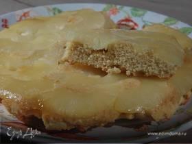 Пирог с консервированным ананасом