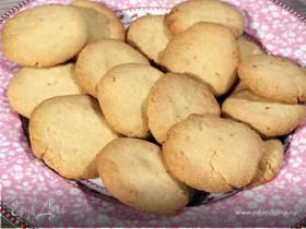 Песочное имбирное печенье